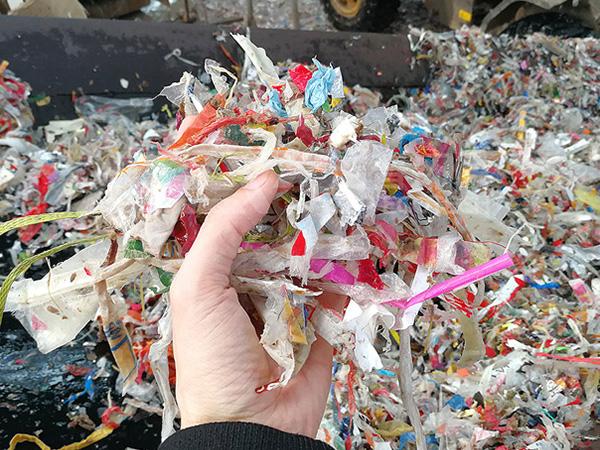 纸厂绞绳破碎处理方案,造纸厂垃圾破碎机项目案例