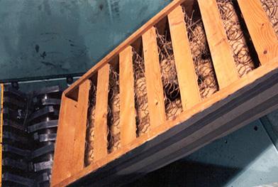 大件垃圾(旧家具)破碎分选预处理,大件垃圾破碎机生产线案例