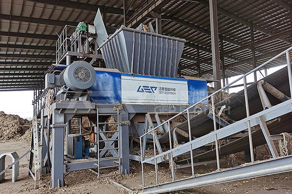 生物质电厂破碎机成套设备,生物质燃料破碎机项目案例