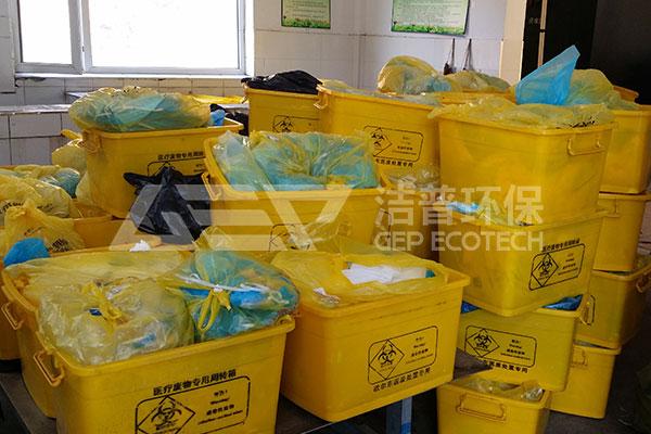医疗垃圾破碎机满足医疗废弃物高混合的破碎要求