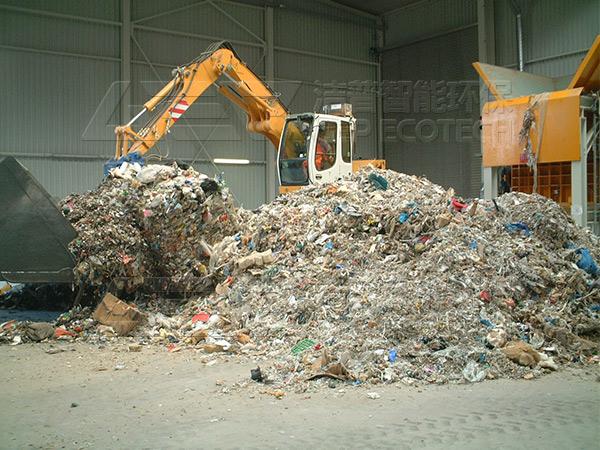 城市生活垃圾怎么处理?附城市生活垃圾破碎处理流程